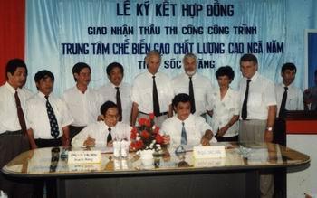 Trung tâm chế biến gạo chất lượng cao tỉnh Sóc Trăng, Thái Bình, Cần Thơ